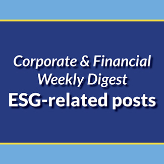 EST-related Corporate and Financial Weekly Digest articles