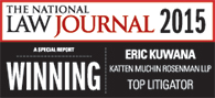 "National Law Journal, ""A Special Report: Winning"" Top Litigator, 2015"