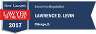 Best Lawyers Lawyer of the Year 2017, Securities Regulation, Chicago
