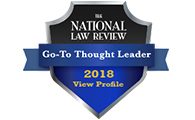 National Law Review, Go-To Thought Leader Award, 2018