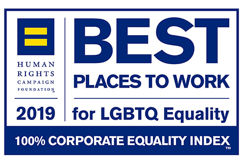 Katten achieves a perfect score on the 2019 Corporate Equality Index by the Human Rights Campaign Foundation, based on the firm's LGBTQ-inclusive workplace policies and practices.