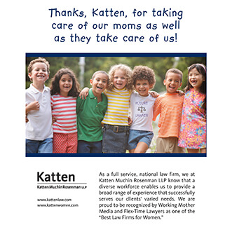 "<i>Working Mother</i> magazine names Katten to the ""100 Best Companies"""