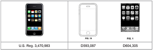 Apple iPhone Screen Design Diagrams